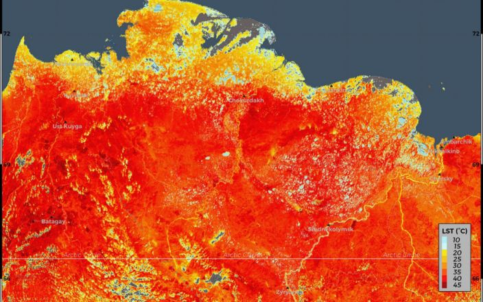 Siberia sees highest temperature in 150 years